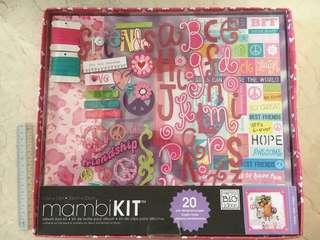 Mambi 12in x 12in friendship kit