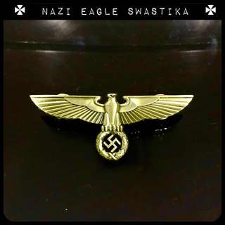 Nazi Badge Eagle swastika Hitler medal World War Two Third Reich