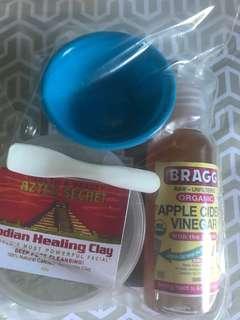 💯Authentic Aztec Secret Healing Facial Madk