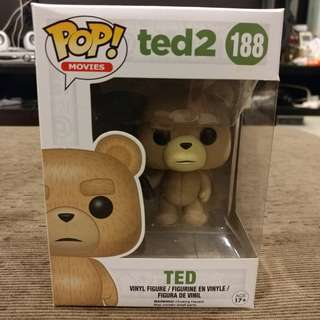 🚚 Funko Pop! Movies Ted 2 - Ted (Beer Bottle) #188