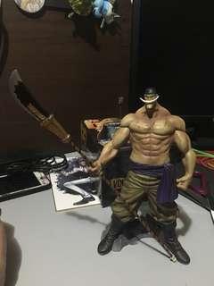 One Piece Whitebeard no cape Action Figure