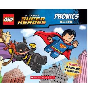 BNIB: Phonics Boxed Set #2 (LEGO DC Comics Super Heroes) Books