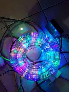 Lampu natal selang/ lampu natal selang led 10m