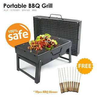 Portable Carry Table BBQ