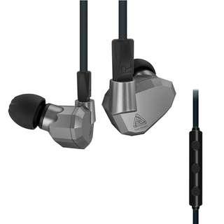 Kz Zs5 Quad Drivers IEM w/ mic