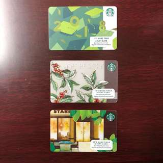 Starbucks Card 2018! (US Collectibles)