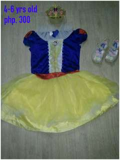 Snow white 4-6 yrs old