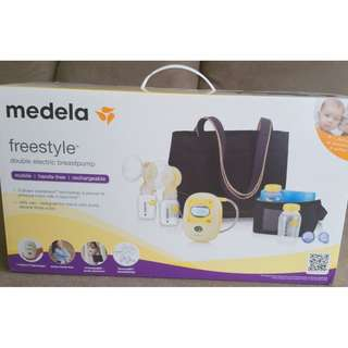 Brand New Medela freestyle electric double breast pump still  unopend box--Made in Switzerland