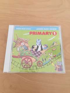 Yamaha Junior Music Course CD Primary 1