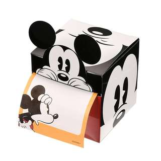 Japan Disneystore Disney Store Mickey Mouse Roll Notepad with Box