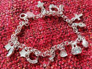 925 Sterling Sliver Chain Bracelet
