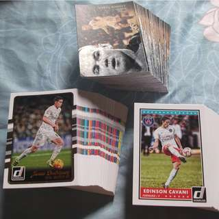 Panini soccer trading cards for sale (Lot of 210 cards)