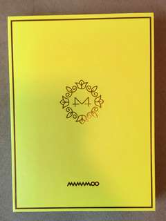 Mamamoo Yellow Flower淨專