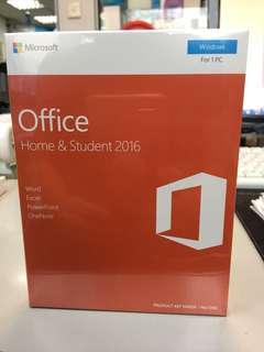 Microsoft Office 2016 Home and student 2016