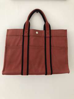 Hermes fourre tote canvas