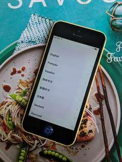 🚚 iPhone 5C Yellow 16GB
