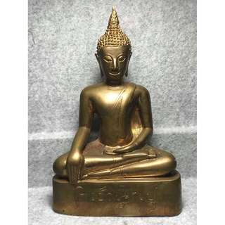 Phra Buddha Bucha with Holy Item below BE2555 by AJ Det of Wat Tham Papom
