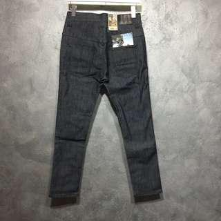 SALE! BNWT Nudie Tape Ted Dry Open Twill