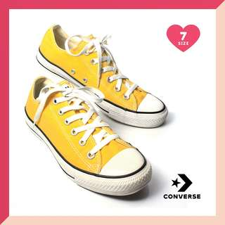 Converse Lemon Yellow Chuck Taylor Low Cut Sneakers