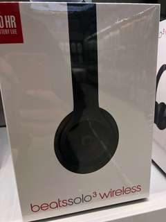 Brand new beats by Dre solo 3 wireless