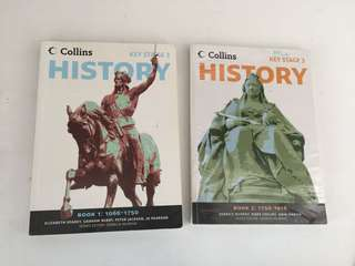 Key Stage 3 Collins History Book 1 and 2