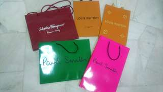 Assorted Paperbags