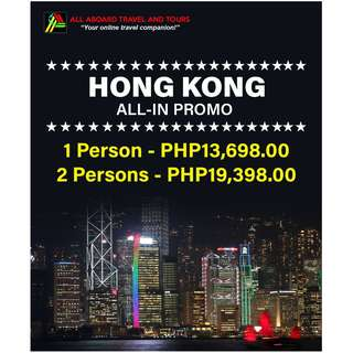 Hong Kong Free and Easy All-In Tour