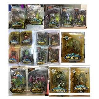 [SUPER OFFER!!!] 18 figures World of Warcraft