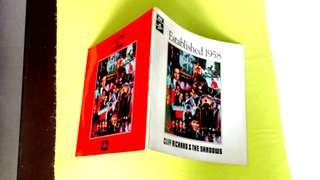 CLIFF RICHARD & THE SHADOWS . established 1958.  Vinyl record