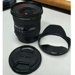 SIGMA 20MM 1:4-5.6 DC HSM (AF-MF) WITH PRO HD MCUV 77MM L/Protect