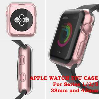 🚚 Apple Watch Case Series 1/2/3 Clear Soft TPU Protector