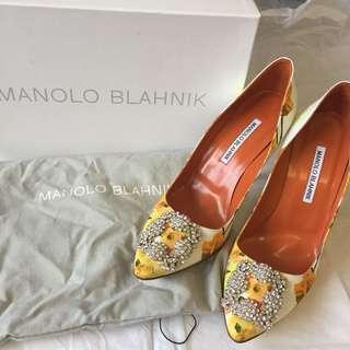 八折 二手真貨 Manolo Blahnik 高跟鞋