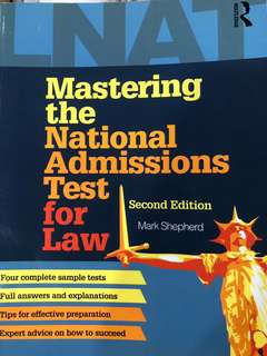 LNAT - Mastering the National Admissions Test for Law