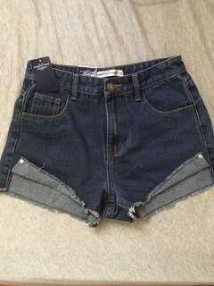 免運 Someone jeans&Fashion百搭經典牛仔短褲