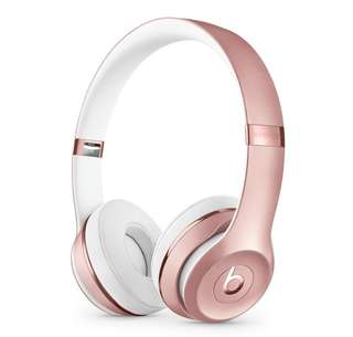 (Rose Gold) Beats Solo3 Wireless Headphones