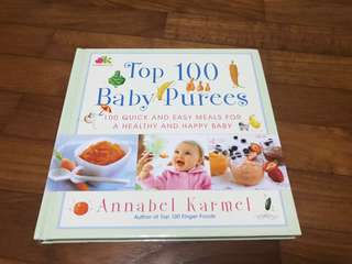 Top 100 Baby Puree by Annabel Karmel *price reduced*