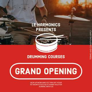 Professional Drum Lessons for Adults & Kids