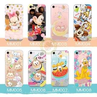 訂製多種型號 phone case 透明手機套 電話套 mickey Pluto goofy