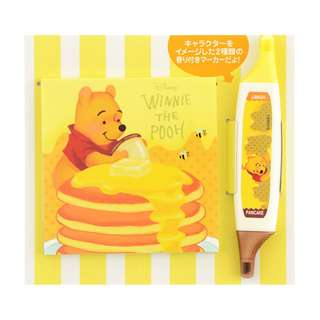 Japan Disneystore Disney Store Pooh Color Pen & Memo