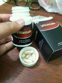Vitamale obat herbal untuk pria perkasa