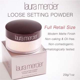 🚚 Laura Mercier Translucent Loose Setting Powder 29g(full size) 100%Authentic, exp.date:09/2020 onwards