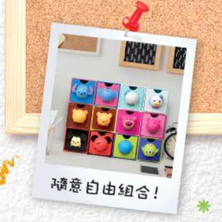 7-11 7-Eleven Disney Tsum Tsum「百變組合BOX」 印花 貼紙