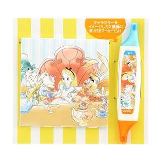 Japan Disneystore Disney Store Alice in Wonderland Color Pen & Memo