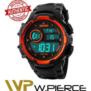 Skmei 1113 W.Pierce Fashion Sport Watch Men SKMEI Brand Men's Digital Waterproof Military Watches Alarm Outdoor LED Casual Wristwatches Male Clock Casio,Zoo York,Timex,Time Depot,Mossimo,G-Shock,Gshock