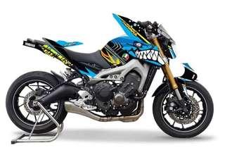 Motorbike Decal