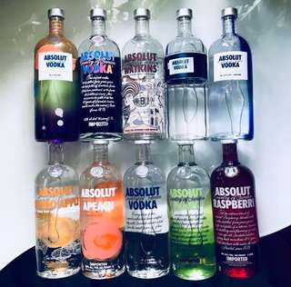 Absolut Assorted Flavours/ Limited Editions