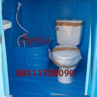 Toilet Portable type A closet Duduk