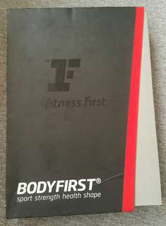 Fitness First books