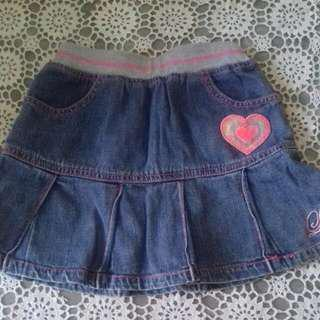 Skirt Jeans (Baju Anak)