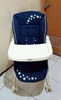 Aprica swing highchair